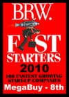 MegaBuy placed 8th in BRW Fast Starters 2010